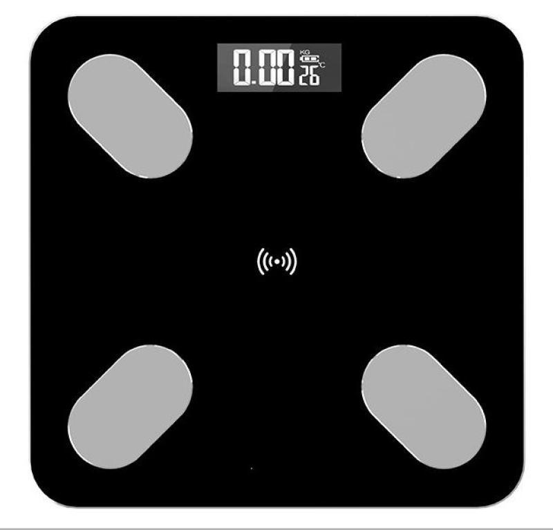 Cân sức khỏe kết nối bluetooth phân tích cơ thể 6027-260 (màu đen)