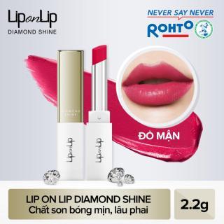 Son nhũ trang điểm dưỡng tối ưu Lip On Lip Diamond Shine 2,2g thumbnail