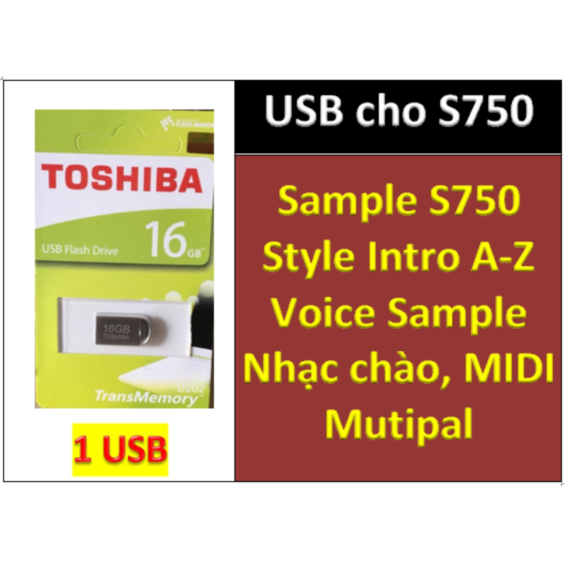 USB Mini Sample Cho đàn Organ Yamaha PSR-S750, Style, Nhạc Chào, Songbook, Midi + Full Dữ Liệu Làm Show Khuyến Mãi Sốc