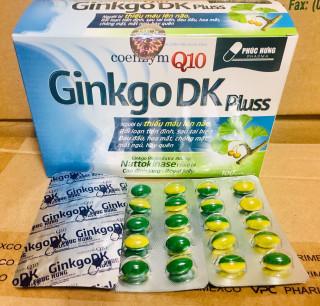 HOẠT HUYẾT DƯỠNG NÃO GINKGO DK Q10 bổ sung dưỡng chất cho não thumbnail