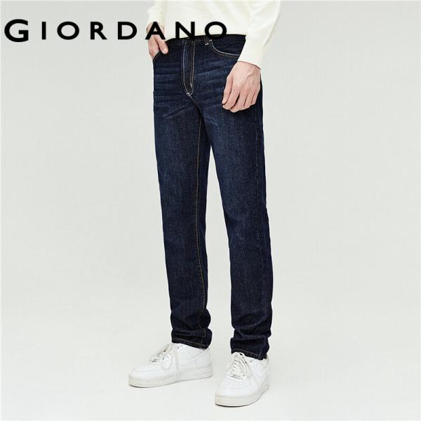 Quần jean dài nam form ôm thoải mái Miễn phí vận chuyển Giordano 01116035