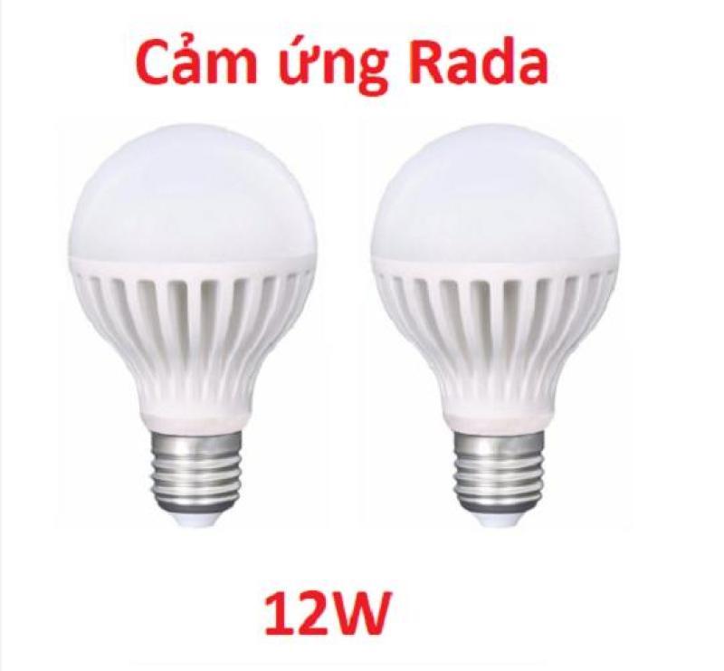 Combo 2 Bóng đèn cảm ứng thông minh12w chuyển động(Vua Giá Sỉ)
