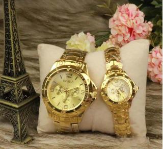 Đồng hồ thời trang Đồng hồ nam nữ Đồng hồ máy pin Đồng hồ Rosra R39 Dây thép không gỉ Bền bỉ Kiểu dáng sang trọng Đẳng cấp thumbnail