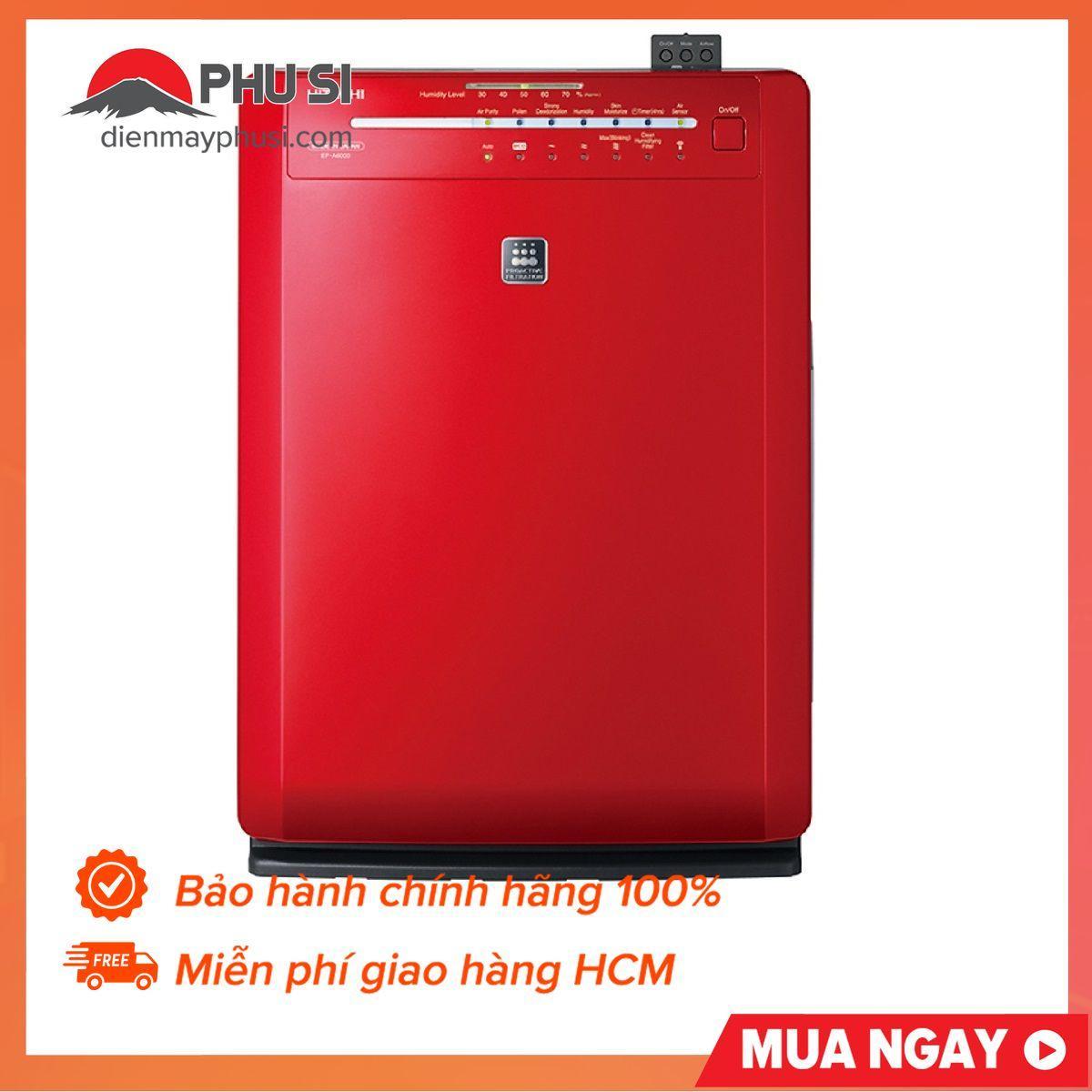 Bảng giá Máy Lọc Không Khí Hitachi EP-A6000 60W (Đỏ)