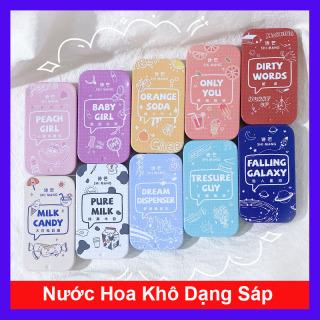 Nước Hoa Khô Dạng Sáp, Nước Hoa Shi Mang Hộp Nhỏ Xinh Xắn 10 mùi hương dịu ngọt cho bạn nữ ngày hè (Nước hoa khô Simang) thumbnail