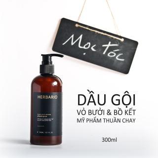 Dầu gội bồ kết và vỏ bưởi Herbario 300ml giúp ngăn ngừa tóc rụng, giúp mọc tóc nhanh hơn