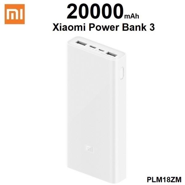 PHIÊN BẢN QUỐC TẾ - HÀNG NHẬP KHẨU - Pin sạc dự phòng Xiaomi gen 3 20000 mAh