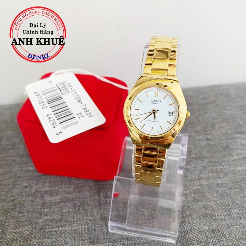 Đồng hồ nữ dây kim loại Casio LTP-1170N-7ARDF chính hãng Anh Khuê nhỏ gọn
