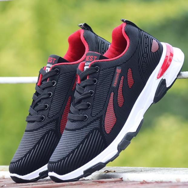 Giày thể thao nam, giày sneaker nam, đế cao su nguyên chất, siêu êm, bền, kiểu dáng thời trang, nam tính G138 giá rẻ