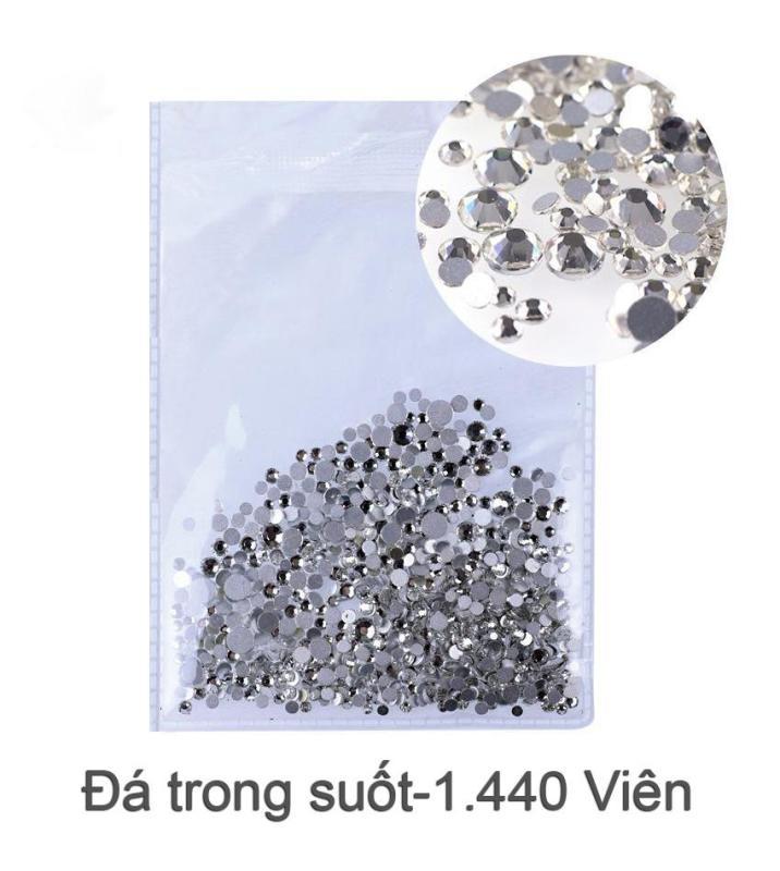 Bịch đá trắng trong suốt S4-S20 (1.440v)