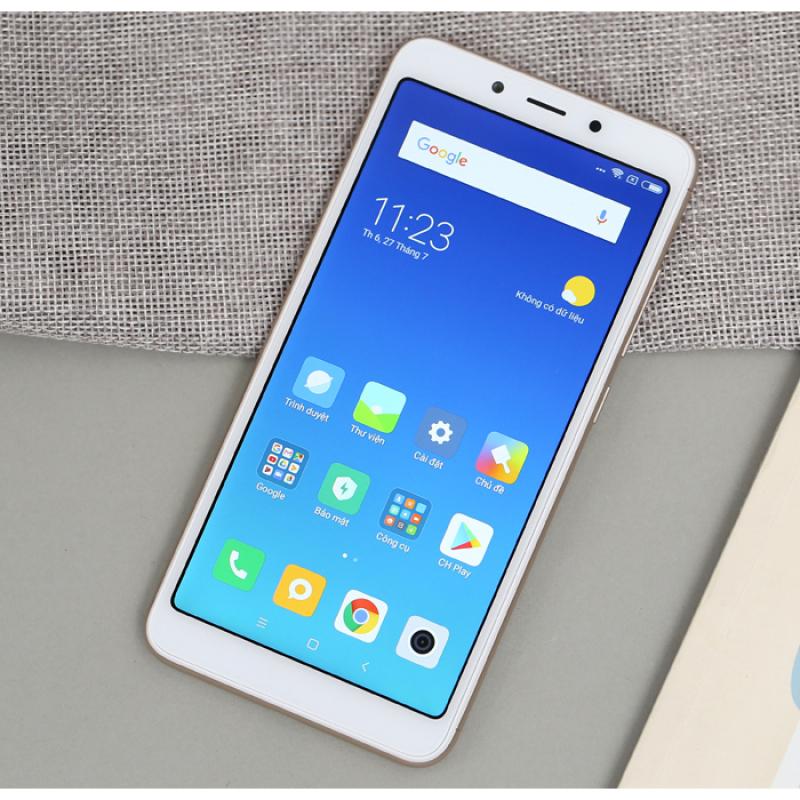 Điện thoại Xiaomi Redmi 6 Ram 4GB bộ nhớ 64G cảm biến vân tay chơi game pubg liên quân Free fire fifa siêu mượt , có tiếng Việt, bảo hành 12 tháng