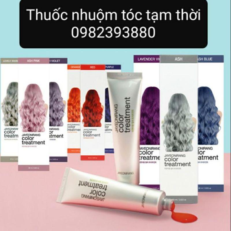 Thuốc nhuộm tóc tạm thời JAYEONIRANG (giữ màu 2 tuần) cao cấp