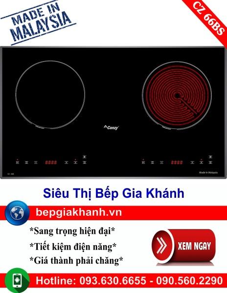 Bếp điện từ 2 vùng nấu Canzy CZ 66BS nhập khẩu Malaysia, bếp điện từ, bếp điện từ đôi âm, bếp điện từ đôi, bếp điện từ đôi đức, bếp điện từ đôi nhật, bếp điện từ giá rẻ, bep dien tu gia re, bep dien tu hong ngoai