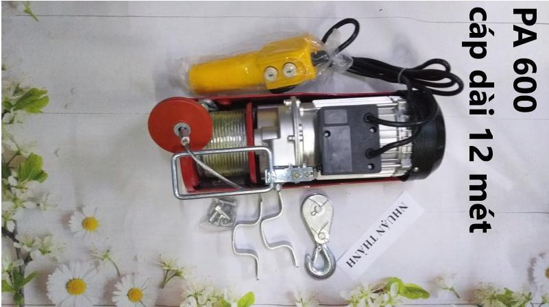 Máy tời điện 600kg PA 300-600 (100% dây đồng)