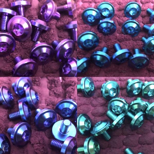 Ốc Titan Gr5 Dù Dày - Gắn Nón Bảo Hiểm Sơn