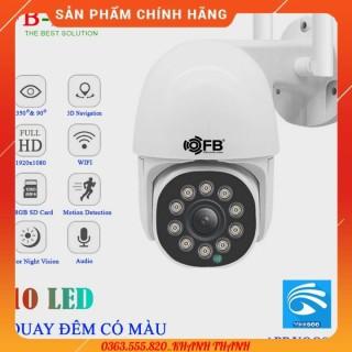 Camera IP Wifi Ngoài trời FB-Link GT-5102 Full HD (App Yoosee Ban đêm có màu) + Adapter thumbnail
