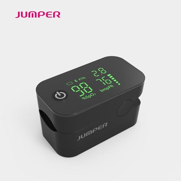 [Freeship+ Quà 50K]  Máy đo nồng độ oxy (oxi) trong máu Jumper JPD-500G. Tặng kèm Kính chống giọt bắn 50k (Đo nhịp tim, chỉ số tưới máu, kẹp đầu ngón tay  Fingertip pulse oximeter Spo2) bán chạy