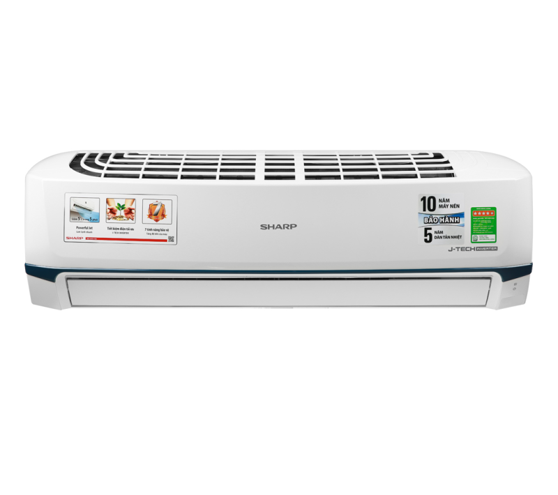 Bảng giá Máy lạnh Sharp Inverter 2 HP AH-X18XEW 2020 Lọc bụi, kháng khuẩn, khử mùi:Lưới bụi polypropylene Chế độ làm lạnh nhanh:Powerful Jet Chế độ gió:Điều khiển lên xuống tự động, trái phải tùy chỉnh tay,