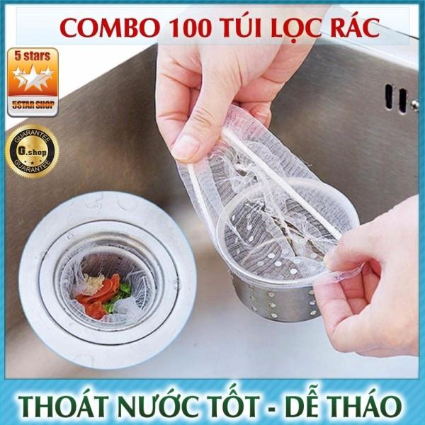 Bảng giá Combo 100 - 500 Túi Lọc Rác, Thức Ăn Thừa Thông Minh Cho Bồn Rửa Bát