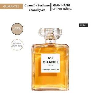 Nước Hoa Cao Cấp FREESHIP Nước Hoa Chanel N 5 Vàng 24h Chính Hãng Thơm Lâu thumbnail