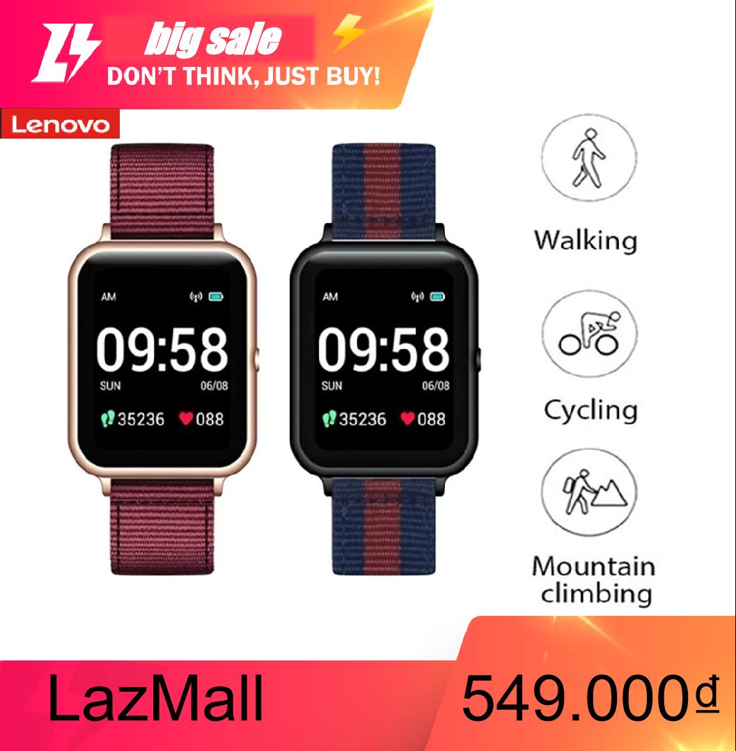 LenovoS2 Thông Minh Horloge 1.4  240X240 Bộ Theo Dõi Sức Khỏe Calorie Stappenteller Slaap Hartslagmeter Smartwatch Man Phụ Kiện Ban Nhạc Quà Tặng