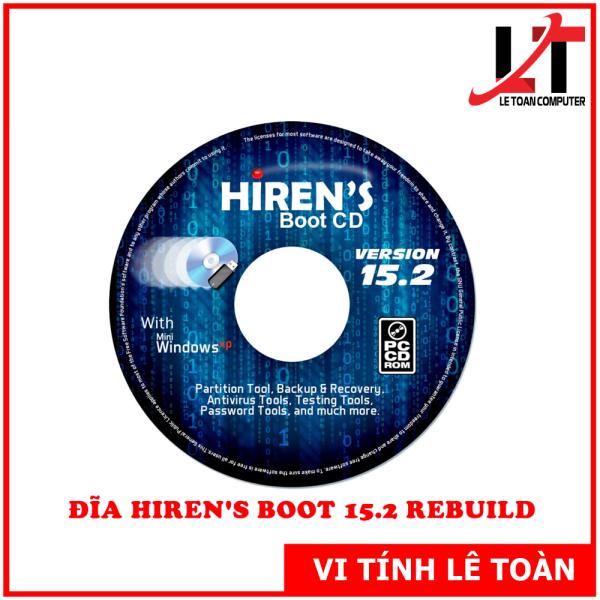 Bảng giá Đĩa CD Hirents Boot 15.2 Cứu Hộ Máy Tính Phong Vũ