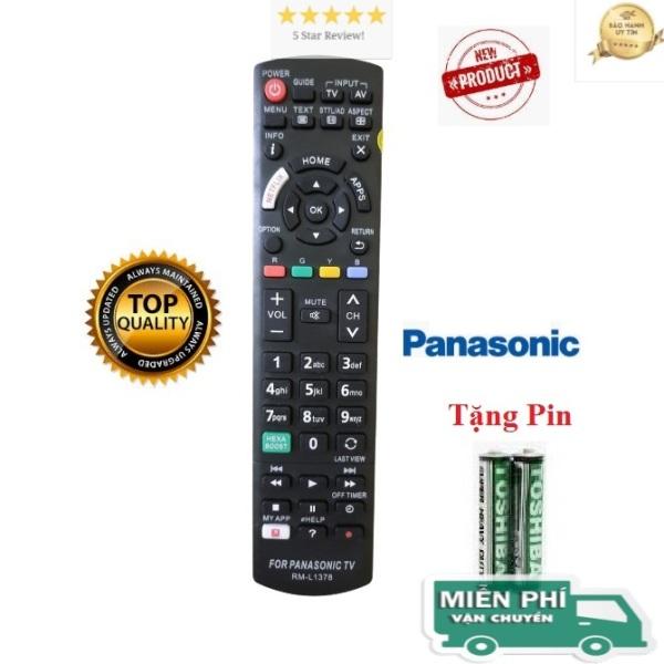 Bảng giá Điều khiển tivi Panasonic RM-L1268 - Hàng tốt- ALEX - TẶNG KÈM PIN