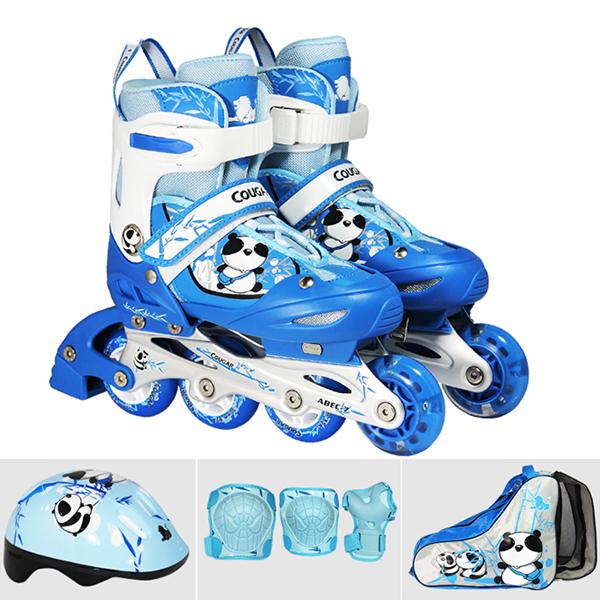Mua Giay Truot Patin, Giày Trượt Patin Trẻ Em, Giá Giày Trượt Patin, Giày Trượt Patin Cho Bé Thiết Kế Chắc Chắn, Ôm Sát - Giúp Đôi Chân Thoải Mái Khi Trượt + Tặng Mũ Và  Đồ Bảo Hộ Đi Kèm siêu khuyến mại 9-9