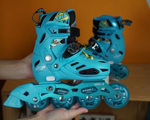 Mua Siêu phẩm giày trượt patin 4 BÁNH SÁNG ĐÈN Cougar MZS 313 TẶNG TÚI ĐỰNG GIÀY