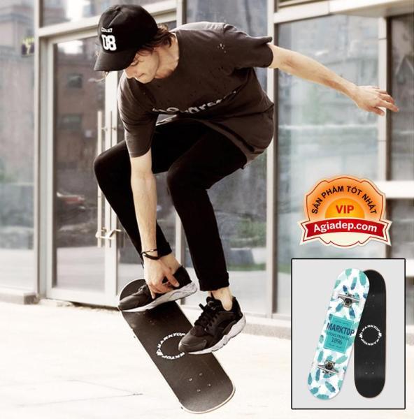 Ván trượt chuyên nghiệp - dành cho thanh thiếu niên - Skateboard Marktop - Hàng xịn xuất Châu Âu (Bản UK)