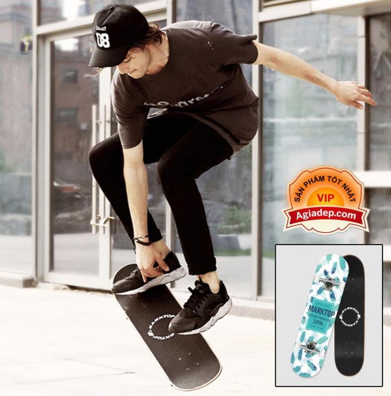Mua Ván trượt chuyên nghiệp - dành cho thanh thiếu niên - Skateboard Marktop - Hàng xịn xuất Châu Âu