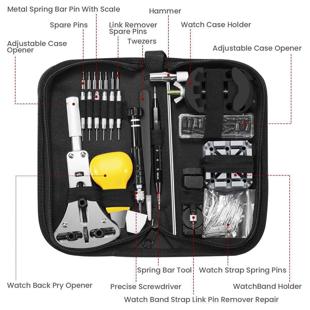 Nơi bán Bộ dụng cụ tua vít sửa chữa tháo lắp đồng hồ chuyên nghiệp MTS-1702 full 148chi tiết 14 đầu món