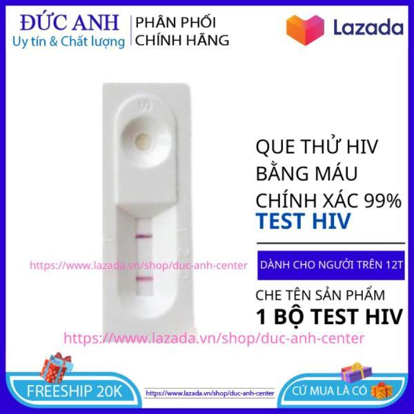 Bộ Que Thử HIV Tại Nhà Fasetp Mỹ Chính Xác 99,99 % ( Cam Kết Che Tên Sản Phẩm ) - Que Thử HIV Mỹ cao cấp