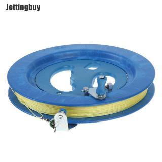Jettingbuy Cuộn dây diều màu xanh kích có thước 22cm, chất liệu nhựa ABS và dây dài 400m - INTL thumbnail