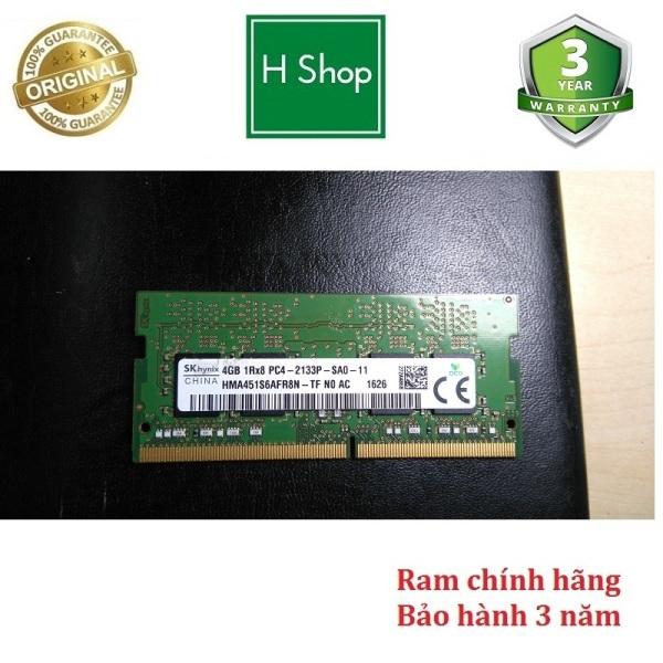 Ram Laptop DDR4 4GB Bus 2133 tháo máy Bảo Hành 3 Năm