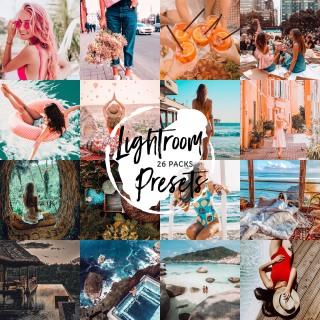 26 gói Preset Lightroom cho điện thoại - 160 Presets Lightroom Mobile Lightroom Presets - LR1 thumbnail
