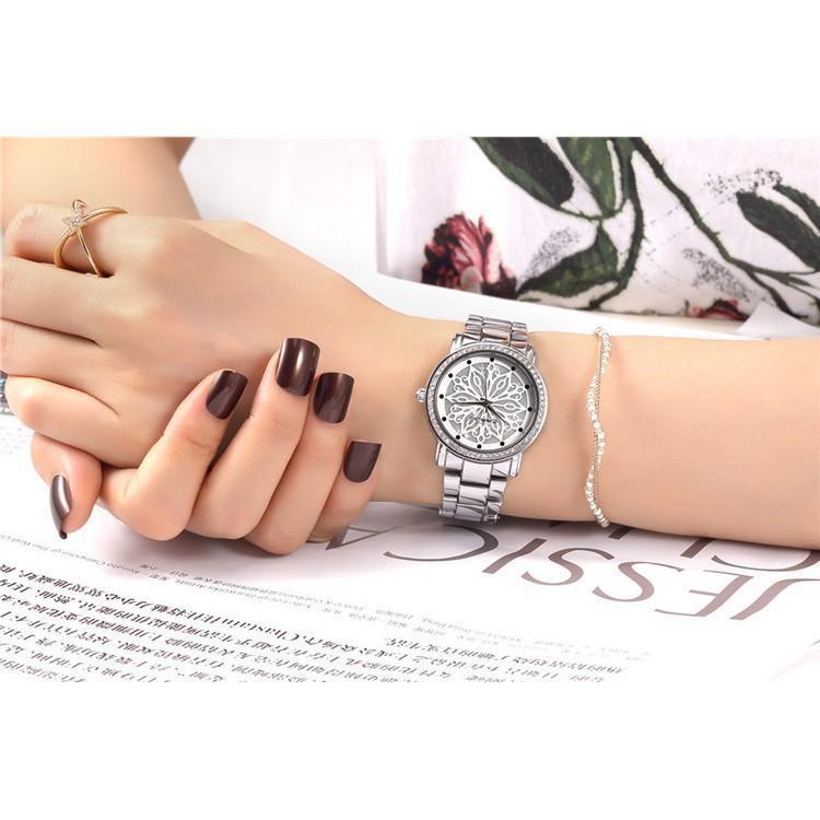 Đồng hồ nữ đính đá cao cấp CRRJU JAPAN CR2109 bán chạy