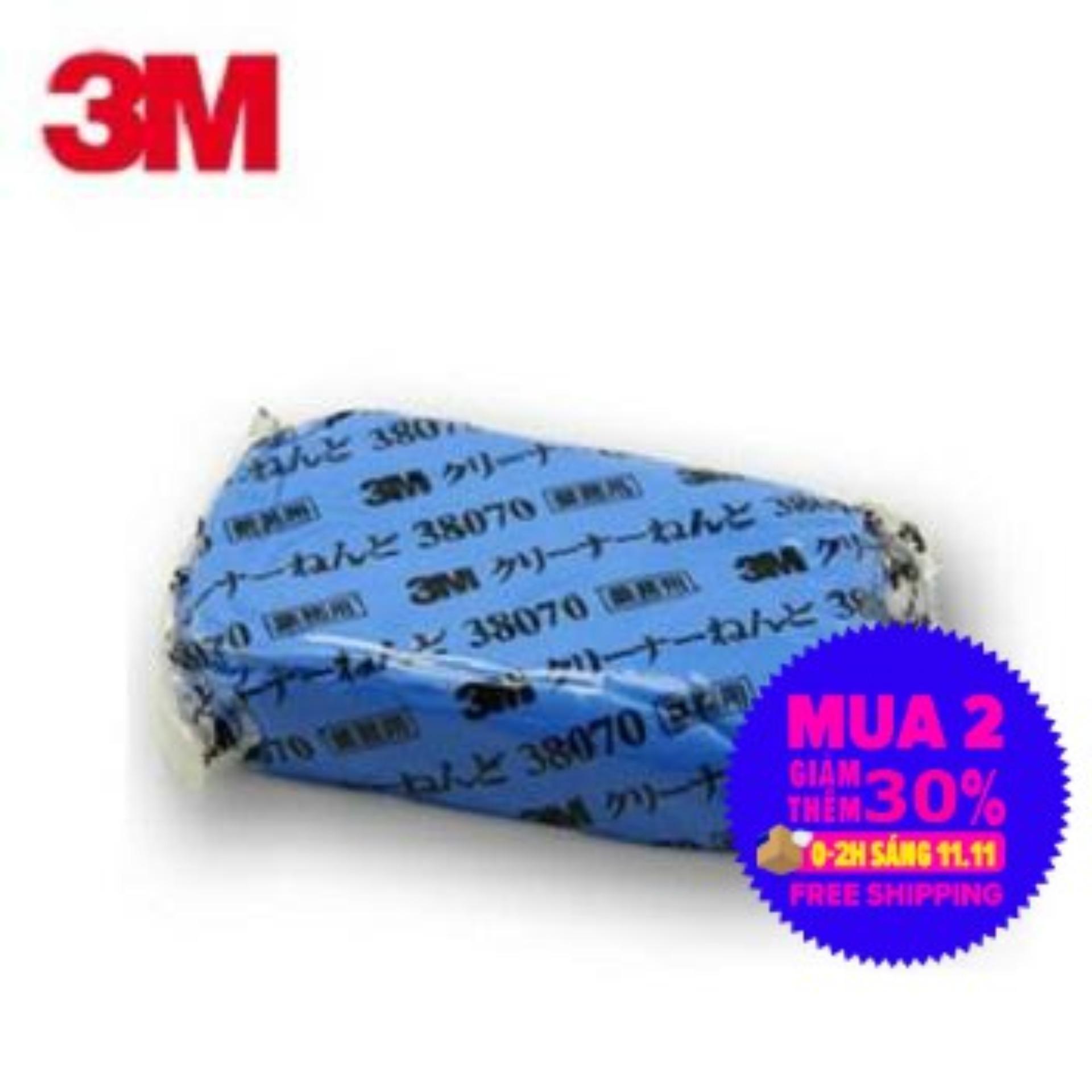Đất Sét Tẩy Bụi Sơn ô Tô 3M Perfect It III Cleaner Clay 38070 (Xanh) Giá Tốt Không Nên Bỏ Qua