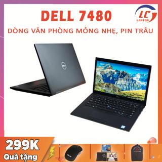 Laptop Chơi Game, Văn Phòng Dell Latitude 7480 Pin 5 Tiếng, i5-6300U, VGA Intel HD 520, Màn 14 FullHD IPS, Laptop Giá Rẻ, laptop Dell thumbnail