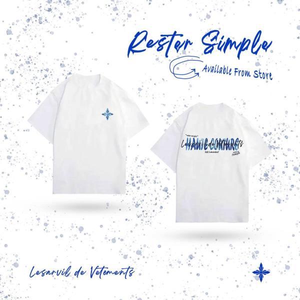 Áo thun White Rester Simple LDV T-Shirt