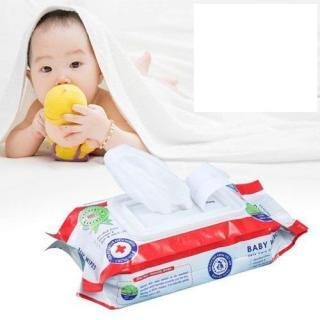 Combo 20 gói Khăn Giấy Ướt Baby hương di u nhe (go i 80gr)- khan giay uot thumbnail