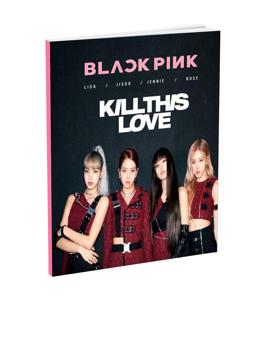 Mua Allbum ảnh Blackpink Kill This Love Ảnh Kèm Lời bài Hát Loại Nhỏ