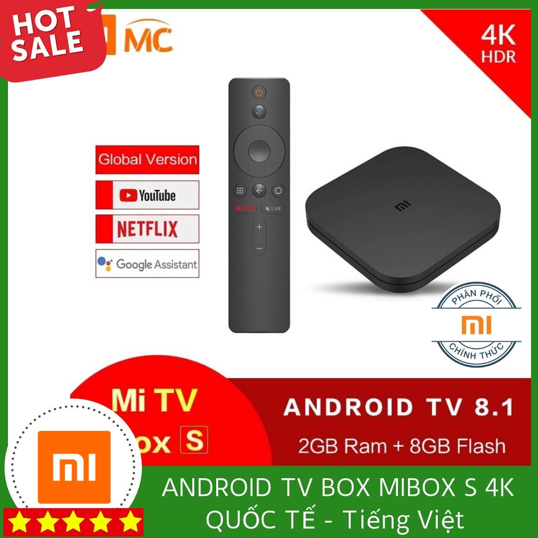 Bảng giá ANDROID TV BOX MIBOX S 4K QUỐC TẾ - TIẾNG VIỆT