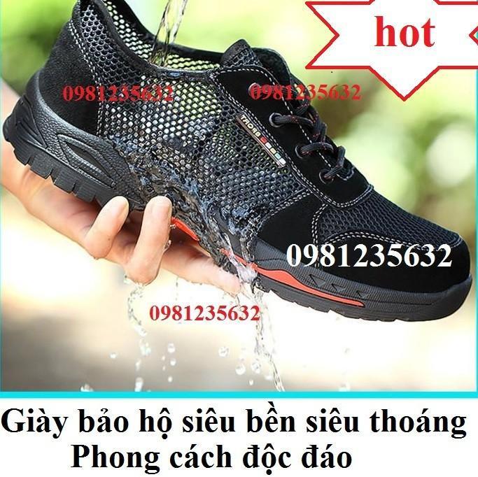 Giày bảo hộ lao động siêu thoáng khí
