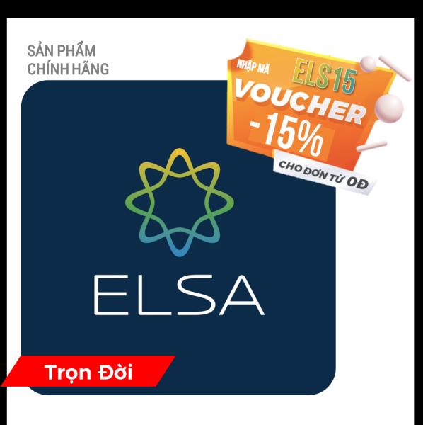 Bảng giá ELSA SPEAK English Pro - TRỌN ĐỜI - Phần mềm học nói tiếng Anh bản xứ Phong Vũ