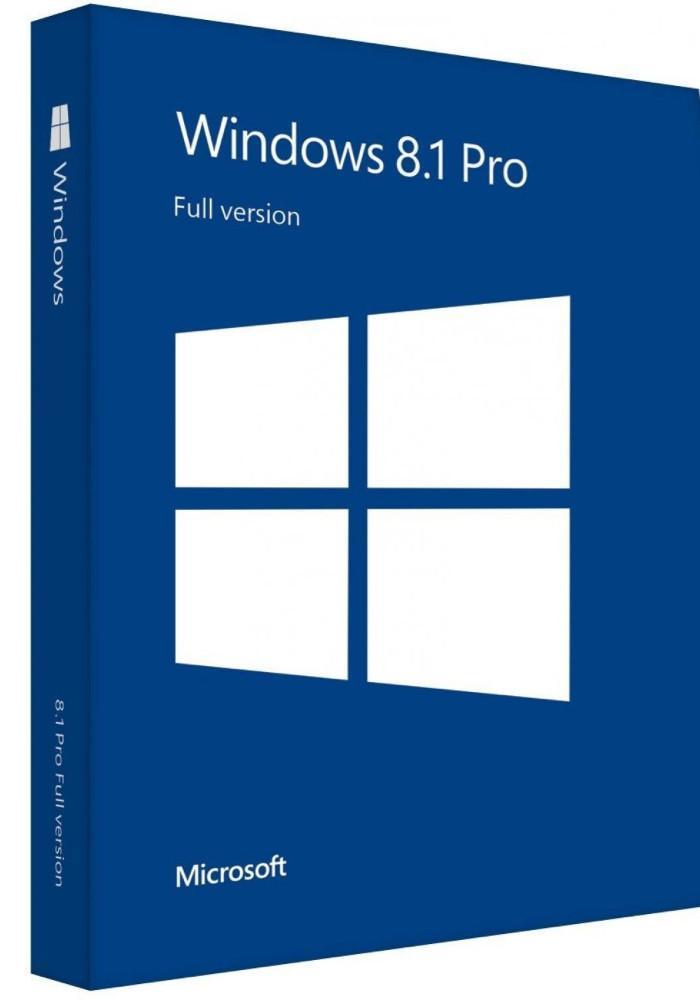 License phần mềm Windows 8.1 Pro vĩnh viễn
