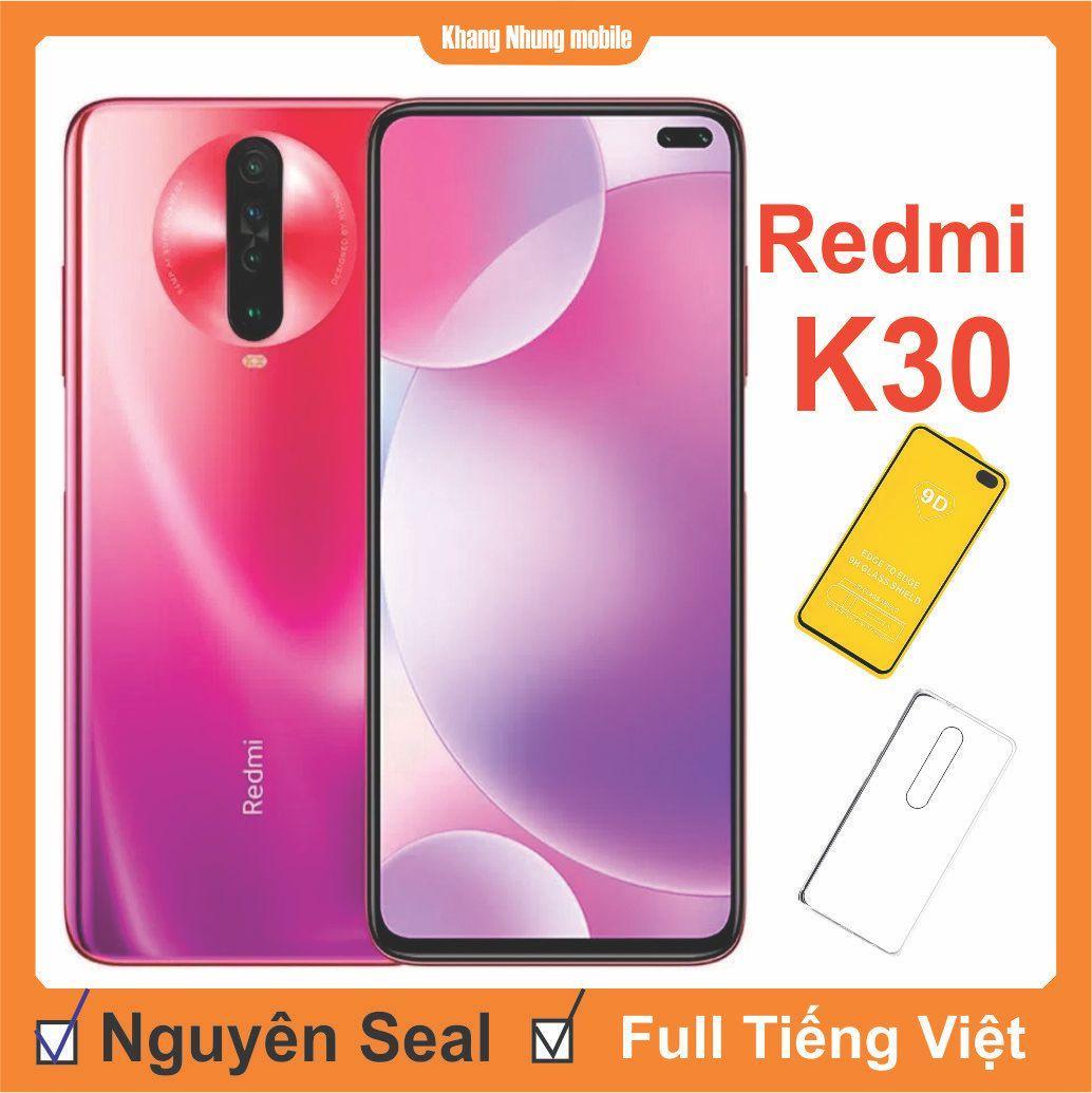 Điện thoại Xiaomi Redmi K30 128GB ram 8GB + Cuờng Lực + Ốp Lưng Khang Nhung - Hàng Nhập Khẩu,