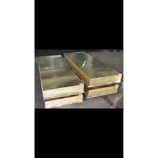 Đồng tấm lá vàng 1x600x500mm