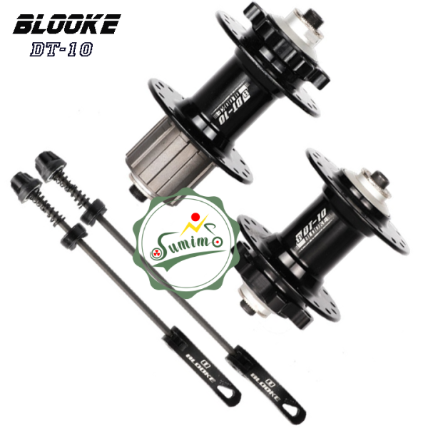 Phân phối Đùm xe đạp - Hub BLOOKE DT-10 Cối líp thả 10 Speed - 32 lỗ - Thắng dĩa