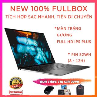 [Trả góp 0%](NEW 100% FULLBOX) Dell XPS 9300 Hỗ Trợ Sạc Nhanh Viền Siêu Mỏng 4 Hướng i5-1035G1 RAM 8G SSD Nvme 256G VGA Intel UHD G1 Màn 13.4 FullHD Plus IPS 100% sRGB thumbnail